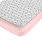 carter's® Bunnicorn Fitted Crib Sheets (Set of 2)
