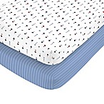 carter's® Sport Toss Fitted Crib Sheets (Set of 2)