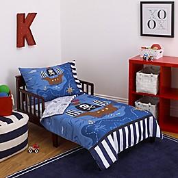 Little Tikes® Pirate 4-Piece Toddler Bedding Set