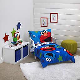 Sesame Street® Awsome Buds 4-Piece Toddler Bedding Set