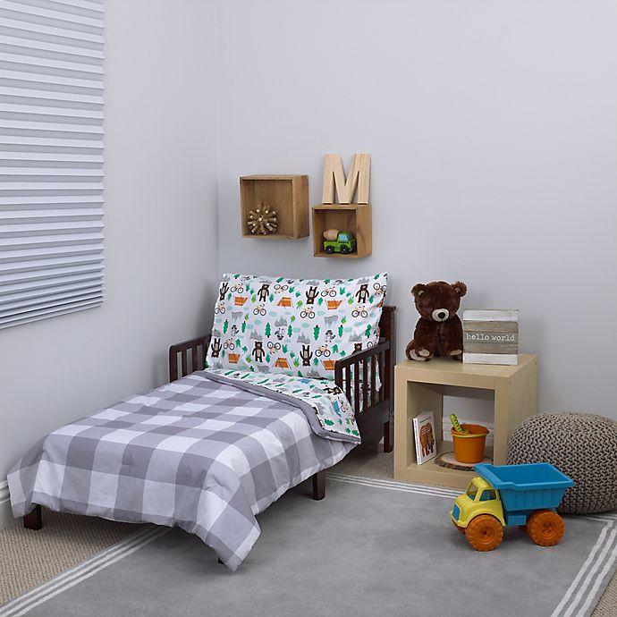 carter's® Woodland Boy 4-Piece Toddler Bedding Set | Bed ...
