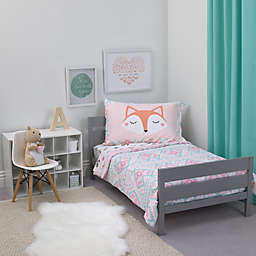 carter's® Aztec 4-Piece Toddler Bedding Set in Aqua/Teal