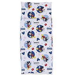 Disney® Mickey Mouse Preschool Nap Mat Sheet in Blue