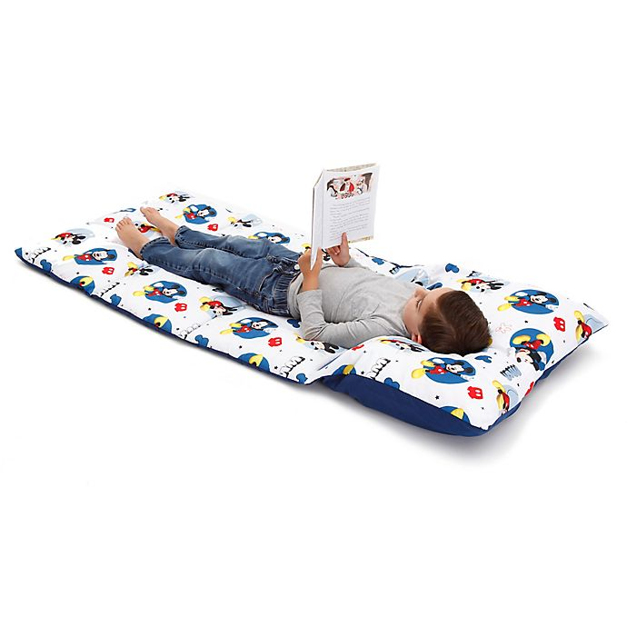 Alternate image 1 for Disney® Mickey Mouse Easy-Fold Toddler Nap Mat