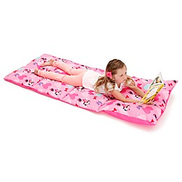 Disney® Minnie Mouse Easy-Fold Toddler Nap Mat in Pink