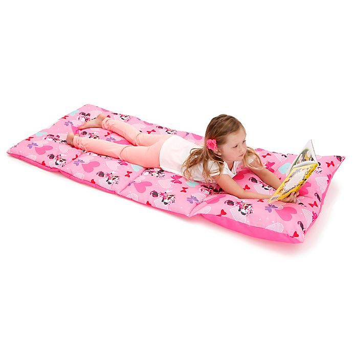Buy Disney 174 Minnie Mouse Easy Fold Toddler Nap Mat In Pink