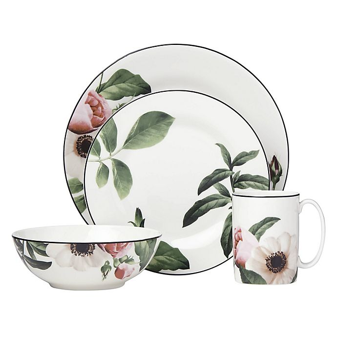Alternate image 1 for kate spade new york Bloom Street™ 4-Piece Place Setting