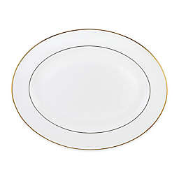 Lenox® Continental Dining™  Gold 16-Inch Oval Platter