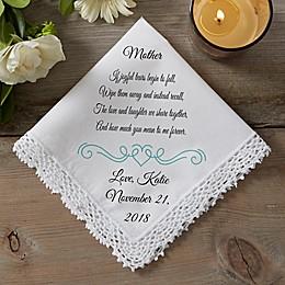 Joyful Tears Wedding Handkerchief