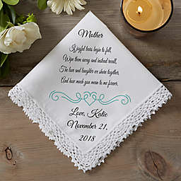 Joyful Tears Wedding Handkerchief