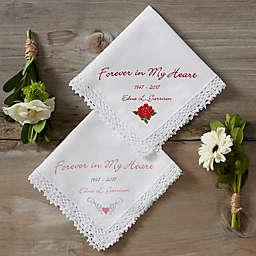 Forever in My Heart Keepsake Handkerchief