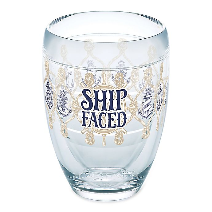 Alternate image 1 for Tervis® Ship Faced 9 oz. Stemless Wine Glass
