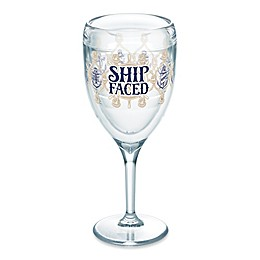 Tervis® Ship Faced 9 oz. Wine Glass