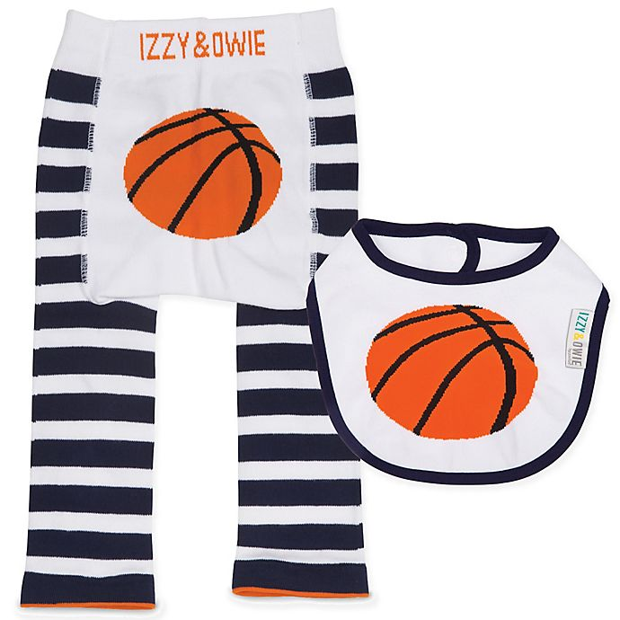 Izzy Owie Size 12 24m 2 Piece Basketball Legging And Bib Set Bed Bath Beyond