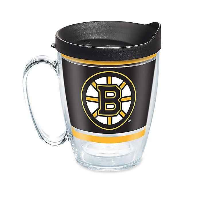 Alternate image 1 for Tervis® NHL Boston Bruins Legend 16 oz. Wrap Mug with Lid
