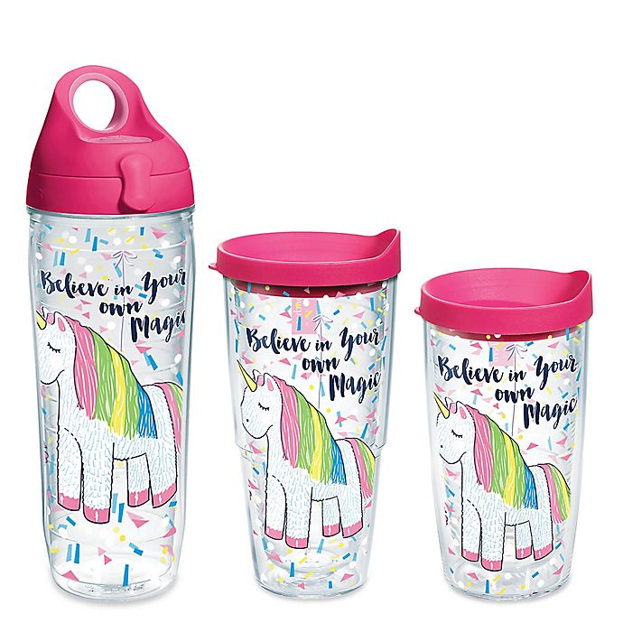 Alternate image 1 for Tervis® Simply Southern® Unicorn Magic Wrap Drinkware with Lid