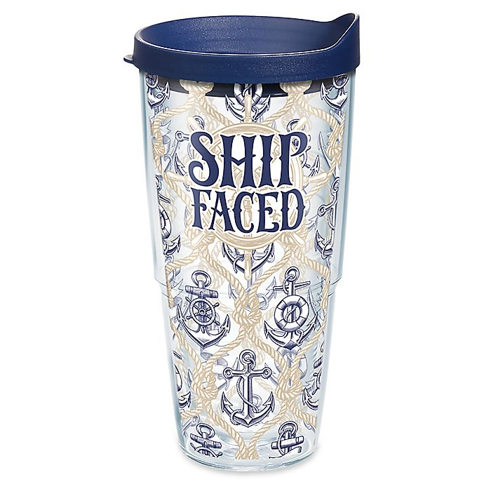 Alternate image 1 for Tervis® Ship Faced 24 oz. Wrap Tumbler with Lid
