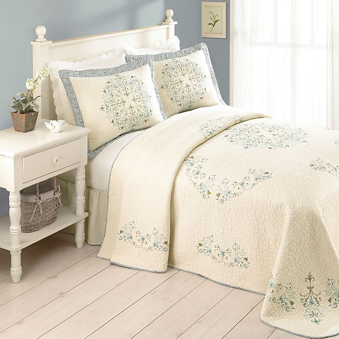 Where Is Bed Bath And Beyond: Addie Bedspread, 100% Cotton