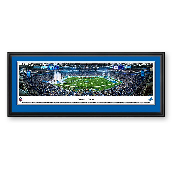 Alternate image 1 for NFL Detroit Lions Panoramic Wall Art