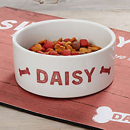 Farmhouse Pet Small Dog Bowl