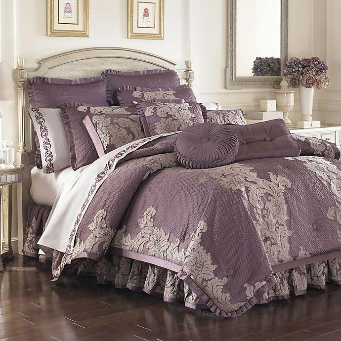Anastasia Purple Comforter Sets Bed Bath Beyond