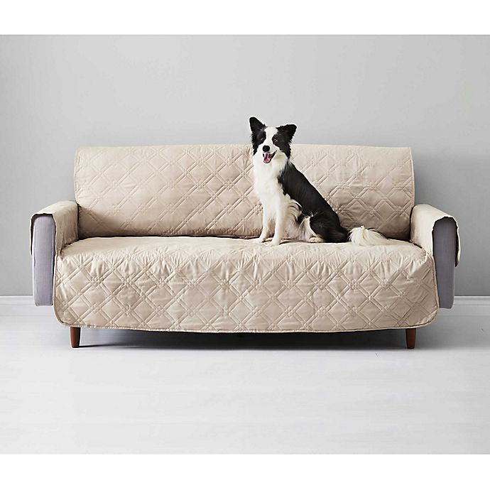 Alternate image 1 for Sure Fit Pet Protector Suede-Like Furniture Cover Collection