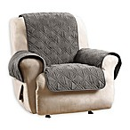 Sure Fit Quilted Pet Recliner Cover in Gray
