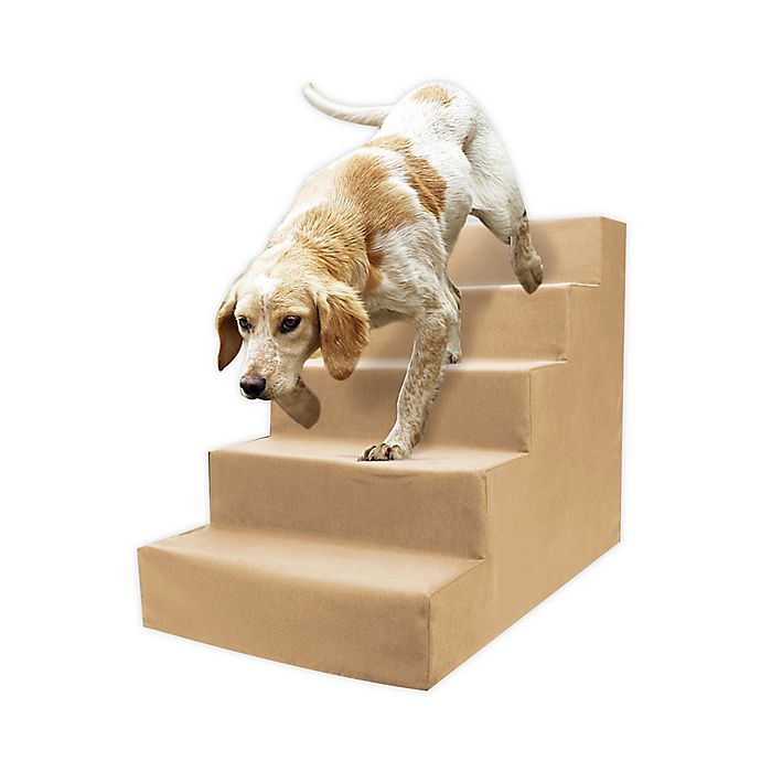 Alternate image 1 for Precious Tails High Density Foam 5 Step Pet Stairs