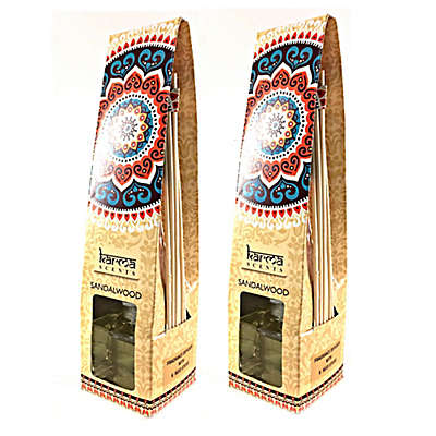 Karma Scents Sandalwood Scented Aroma Diffuser (Set of 2)