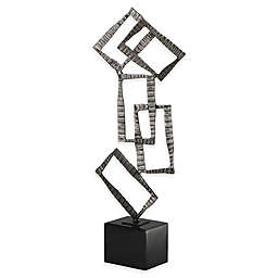 Uttermost Talal Sculpture in Brushed Nickel
