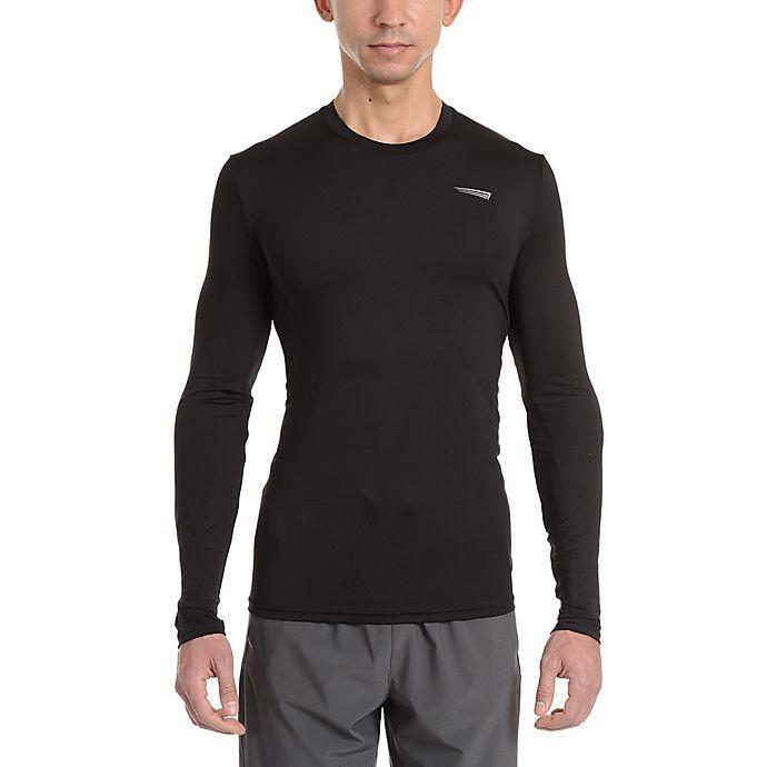 Alternate image 1 for Copper Fit® Men's Base Layer Compression Long Sleeve T-Shirt