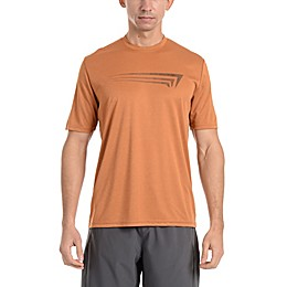 Copper Fit® Men's Dotted Logo Short Sleeve T-Shirt in Copper