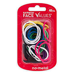 Harmon® Face Values™ 48-Count Small Elastic Band Ponytail Holders in Brights