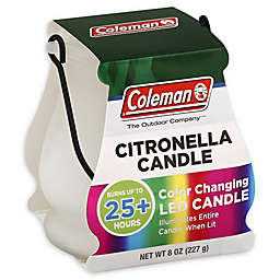 Coleman<strong>® </strong>8 oz. Color Changing LED Outdoor Citronella Scented Candle