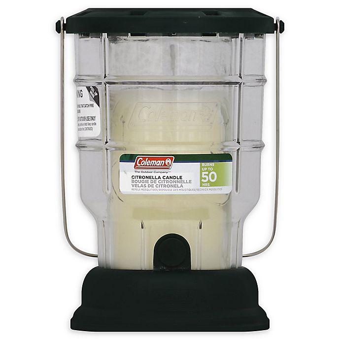 Alternate image 1 for Coleman® 6.7 oz. Citronella Candle Outdoor Lantern