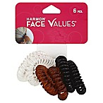 Harmon® Face Values™ 6-Count Spiral Ponytail Holders