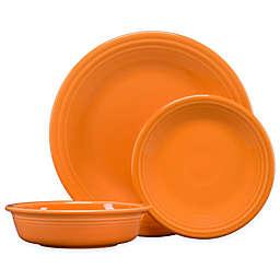 Fiesta® 3-Piece Classic Place Setting in Tangerine