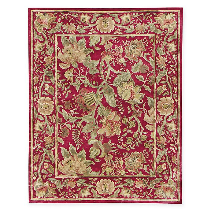 Alternate image 1 for Capel Rugs® Garden Farms 8' x 11' Hand-Tufted Area Rug in Red
