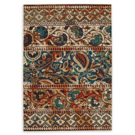 Capel Rugs Greenwich Gypsy Multicolor Indoor Outdoor Rug