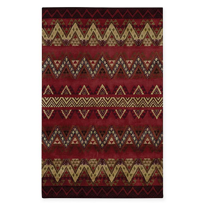 Alternate image 1 for Capel Rugs® Fort Apache 3' x 5' Hand-Tufted Area Rug in Red