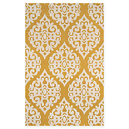 Momeni Dunes Hand-Tufted 5' x 8' Area Rug in Gold