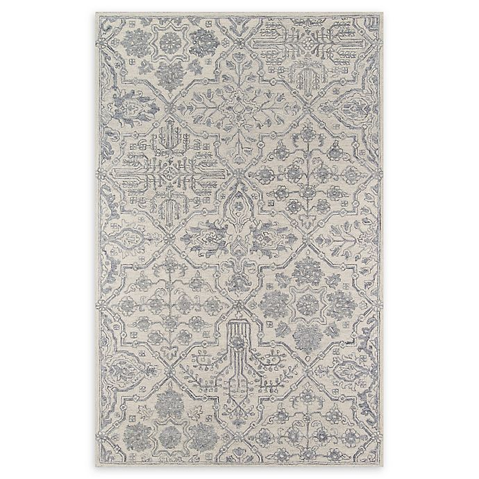 Alternate image 1 for Momeni Cosette Scroll 2' x 3' Accent Rug in Grey