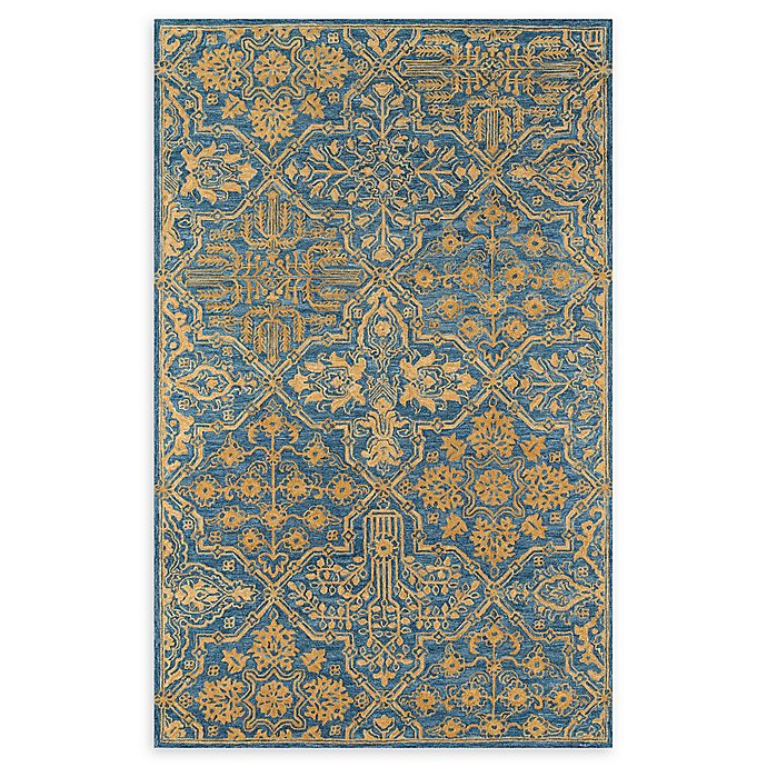 Alternate image 1 for Momeni Cosette Scroll 7'6 x 9'6 Area Rug in Blue