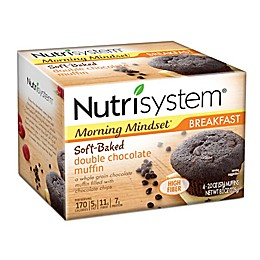 Nutrisystem® 4-Count Morning Mindset Double Chocolate Muffins