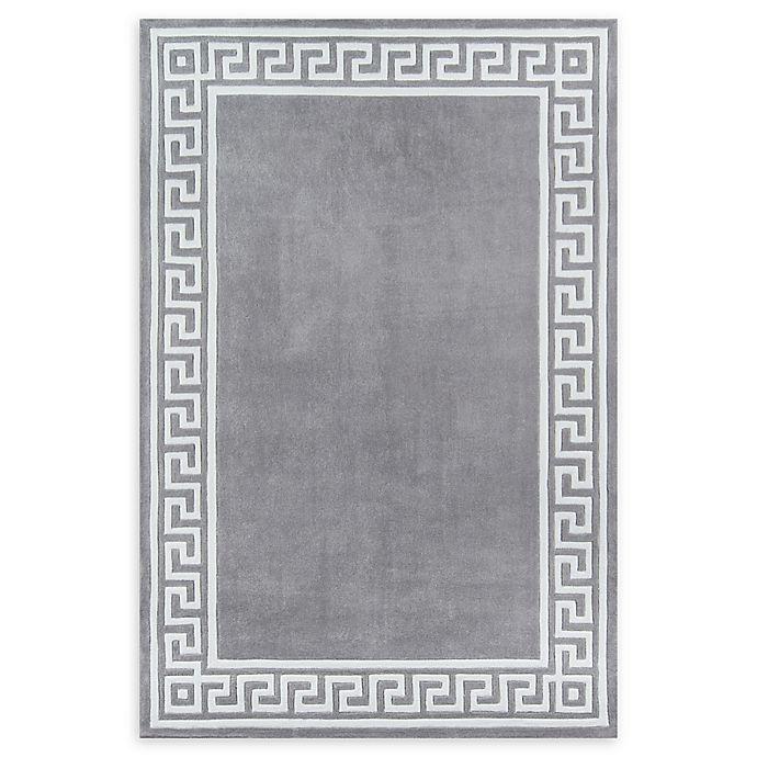 Alternate image 1 for Momeni Bliss Border 8' x 10' Area Rug in Grey