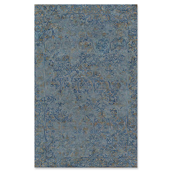 Alternate image 1 for Momeni Delhi Hand-Tufted 8' x 10' Accent Rug in Blue