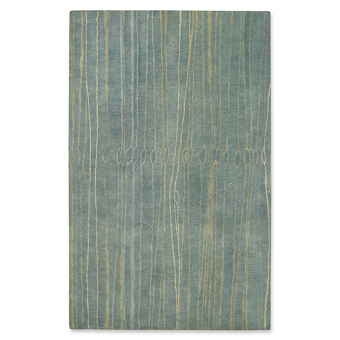 Alternate image 1 for Capel Rugs Fingerling Hand-Tufted 8' x 10' Rug in Blue