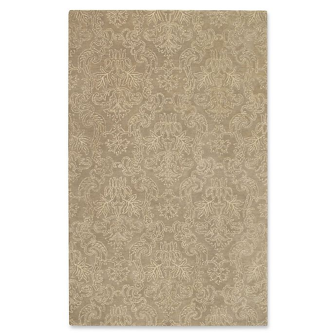 Alternate image 1 for Capel Rugs Flower Garden Hand-Tufted 8' x 10' Rug in Brown