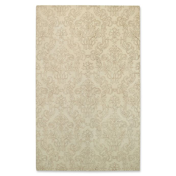 Alternate image 1 for Capel Rugs Flower Garden Hand-Tufted 8' x 10' Rug in Beige