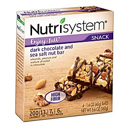 Nutrisystem® Enjoy-full™ 4-Count Dark Chocolate and Sea Salt Nut Snack Bars